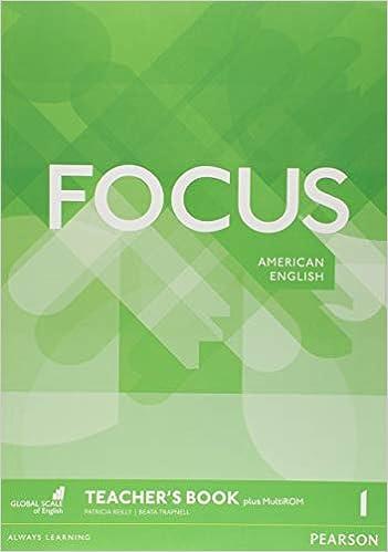 Focus AmE 1 Teachers Book & MultiROM Pack: Amazon.es: Reilly, Patricia, Trapnell, Beata: Libros en idiomas extranjeros