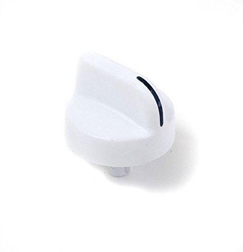 Compactors Trash Kenmore (Whirlpool W9871799 Trash Compactor Start Switch Knob (White) Genuine Original Equipment Manufacturer (OEM) Part for Kitchenaid, Kenmore, Maytag, White)