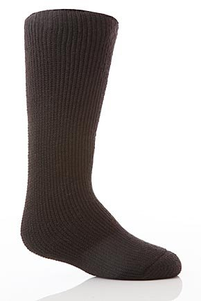 Boys Heat Holders The Warmest Thermal Sock Black 9-1½