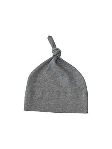 Colored Organics Baby Organic Knotted Hat Newborn 0-6 Months Grey