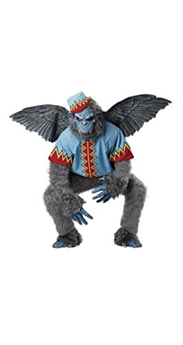 [POPLife Flying Monkey Wizard of Oz Gorilla Adult Costume] (Wizard Of Oz Witch Socks)
