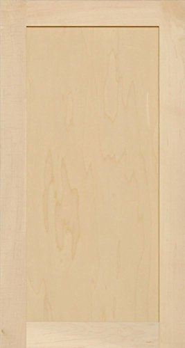 - Unfinished Maple Shaker Cabinet Door by Kendor, 30H x 16W