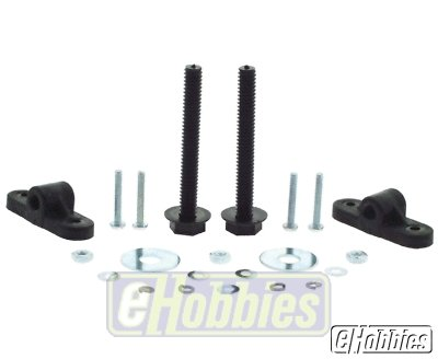 Nylon Wing Bolt (Du-Bro 256 Nylon Wing Mounting Kit)