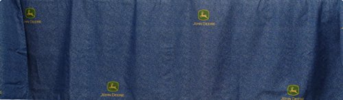 John Deere Bedding Denim Collection Bed Skirt, Twin Size