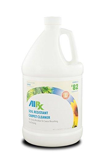Airx RX 82 Soil Resistant Quick Dry Carpet Cleaner, 1 Gallon (Dry Soils)