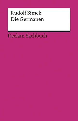 Die Germanen (Reclams Universal-Bibliothek)