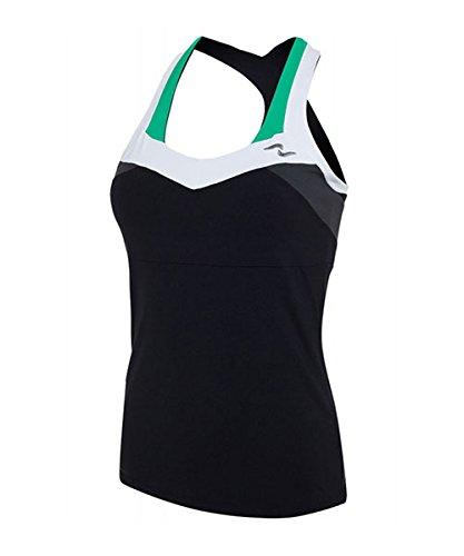 Naffta Camiseta Tirantes Negra Verde: Amazon.es: Deportes y aire libre