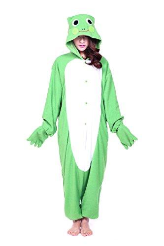 Piece Party Costumes One City (Unisex Aduit Pajamas- Plush One Piece Cosplay Animal Costume (L,)