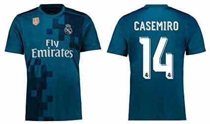 Seconda Maglia Real Madrid Casemiro