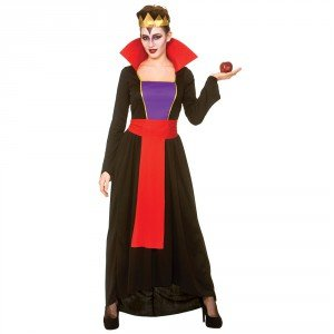 Evil Queen Costume Snow White (Wicked Queen Women's Costume Evil Royal Fancy Dress)