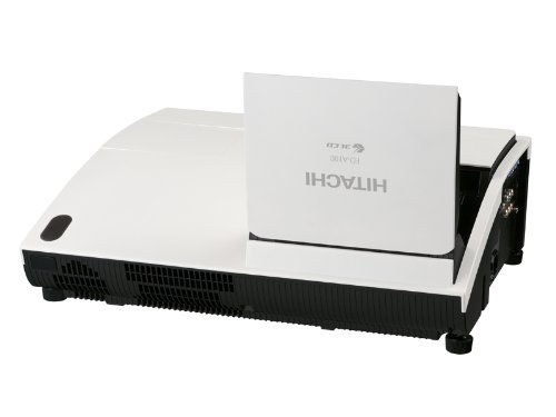 Hitachi ED-A100 XGA 2,000 ANSI Lumens Ultra Short Throw Projector-Silver