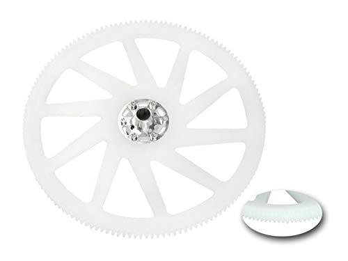 Microheli CNC Delrin Main Gear w/Aluminum Hub Set - Blade 230S V2