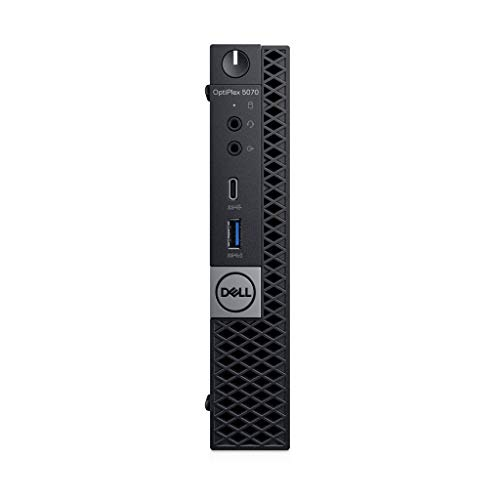 Dell OPTIPLEX 5070 MFF I5 W10P I5-9500T PC, 8GBDDR4, 128GBSSD, WL+BT, Mouse, 3YB