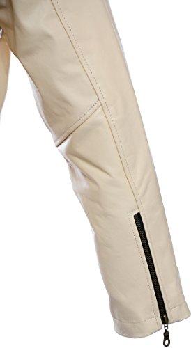 Crème Homme Rtx Leathers Blouson Biker 0xqqX6I