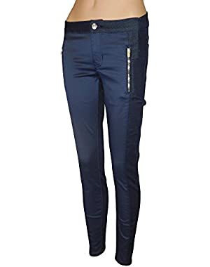 GUESS Women's Marina Biker Skinny Jeans in Silicone Rinse