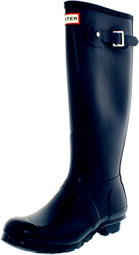 Hunter Women's Original Tall Navy Blue Rain Boots - 9 B(M) US by Hunter (Image #3)