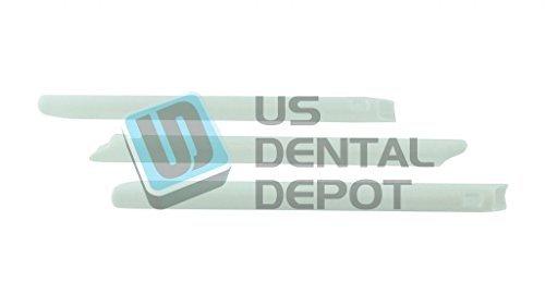 DEFEND- HVE Vented Oral Evacuation White Tips 6 in 100pk - # 113649 Us Depot