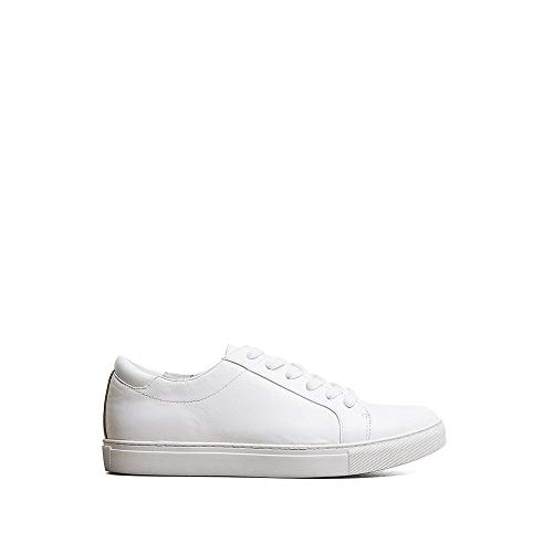 Kenneth Cole New York Womens Kam 10 Floral Embroidered Lace-up Sneaker