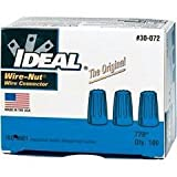 Package Quantity:3 | Style Name:Blue Ideal 30-072 300 Volt Thermoplastic Twist On Wire Connector, Blue, Pack Of 100