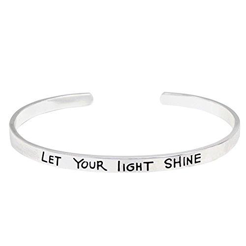O.RIYA LET YOUR LIGHT SHINE Bracelets (White)