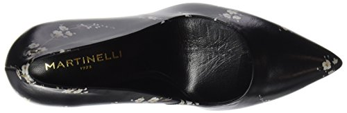 Black Saja Women's Heels Closed 1273 Black Martinelli Black Black Toe 3897nf xqfYFwnv