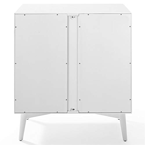 Crosley Furniture CF4403-WH Landon Mid-Century Modern Bar Cabinet, White by Crosley Furniture (Image #5)