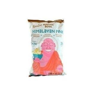 Lesser Evil, Buddha Bowl, Organic Popcorn, Himalayan, 5-Ounce Bag (Pack of 3) (Choose Flavor Below) (Himalayan Pink Salt)