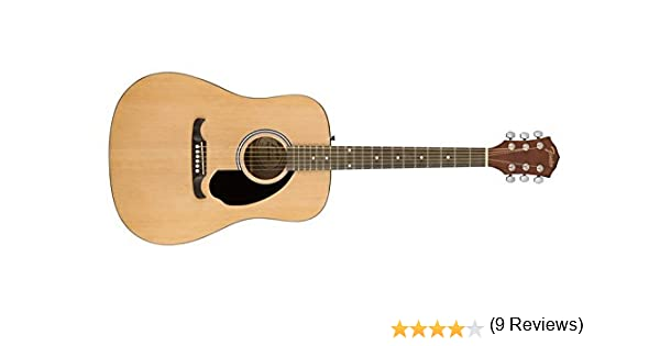 Fender FA-125 Dreadnought Guitarra acústica: Amazon.es ...