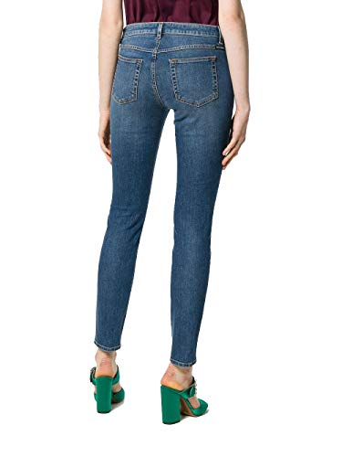 Jeans Cotone amp; Dolce Donna Ftaqwdg890rb0665 Blu Gabbana EgB0cqcvU