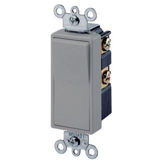 Leviton 5604 2gy 4 Way Decora Switch 15a 120 277v Gray Residential Grade Amazon Com Industrial Scientific