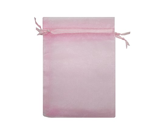 Ankirol 100pcs Sheer Organza Bags 4x6'' Wedding Baby Show...