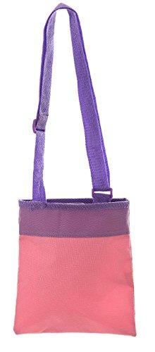 Disney Violetta-Piccola borsa a tracolla, colore: Rosa/Viola, 20 cm