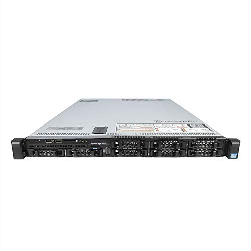 DELL PowerEdge R620 Server 2.90Ghz 16-Core 192GB 2X 512GB SSD 6X 1TB High-End (Certified Refurbished) by Dell (Image #1)
