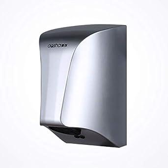 Secador de manos automático de inducción Ahorro de energía reducido Secador de baño montado en la