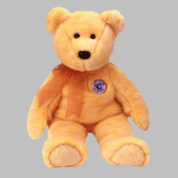 8f2b4101367 Amazon.com  TY Beanie Buddy Bear Sunny the e-Beanie Golden Yellow ...