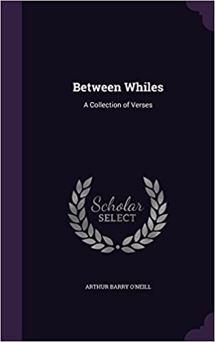 Book Between Whiles: A Collection of Verses