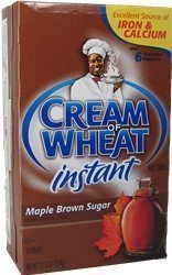 Cream of Wheat Maple & Brown Sugar Instant 10-1.23oz packs(4 pack) (Maple 4 Grain)
