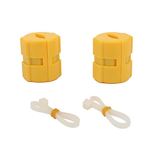 2 Pack Car Power Gas Oil Saver Vehicle Economizer Fuel Saver Super Powerful Neodymium Magnets ()