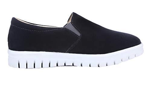 Rond Tire Unie Couleur Agoolar L Femme Chaussures HW6U11