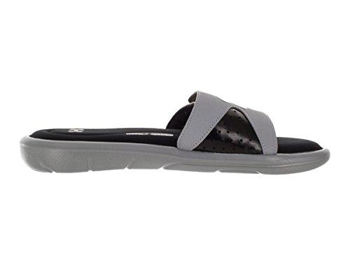 Silver Metallic Flip Steel UA SL IV Under Ignite Armour Pool Flops M Shoes Men amp; Black awq0xF6Zx