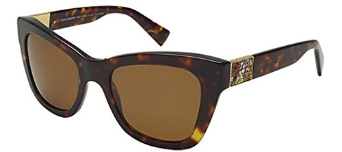 Brown Grad Lens - Dolce & Gabbana DG4214 Sunglass-502/83 Havana (Polar Brown Grad Lens)-52mm