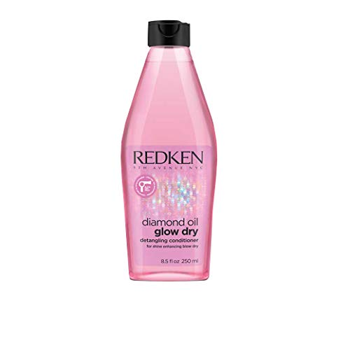 Redken Diamond Oil Glow Dry Detangling Conditioner By Redken for Unisex - 8.5 Ounce Conditioner, 8.5 Ounce