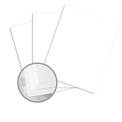 Atlas Bond Recycled Bright White Paper - 8 1/2 x 11 in 24 lb Bond Light Cockle 30% Recycled 25% Cotton Watermarked 500 per Ream