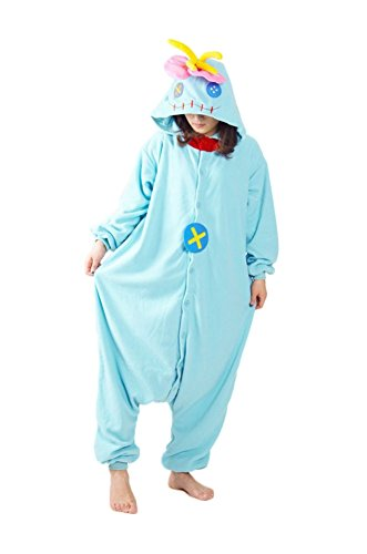 Unique Doll Costume (JSBdress Unique Adult Pajamas One-Piece Animal Cosplay Costumes Doll X-Large)