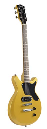 Firefly FFDCS Solid Body Electric Guitar (Gold) 31EmR OsypL