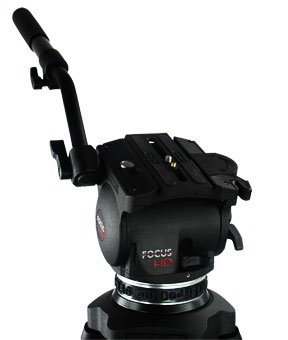 Cartoni Focus HD Video Tripod Head with Quick Release & Pan Bar, Supports up to 22 lbs. by CARTONI