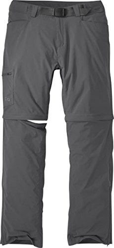 Outdoor Research Men's M's Equinox Convert Pants-Short, Charcoal, 38