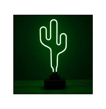 Lampe De Table Neon Cactus Vert Pm Amazon Fr Luminaires Et Eclairage