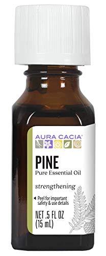 Aura Cacia Pure Pine Essential Oil | 0.5 fl. oz. | Pinus sylvestris