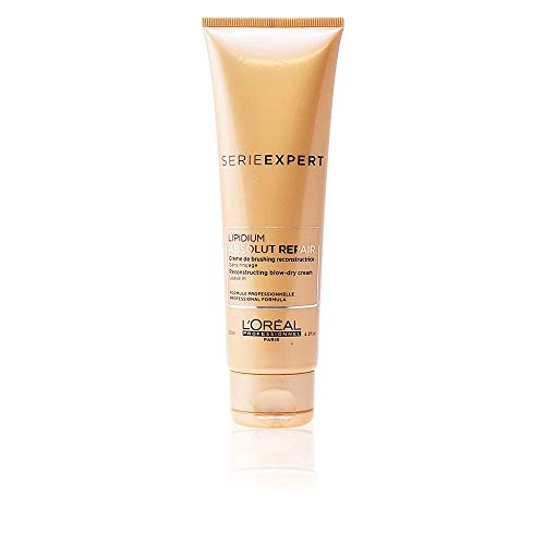 L'Oreal Professional Serie Expert Absolut Repair Lipidium Reconstructing and Protecting Blow-Dry Cream 4.2 Oz / 125 ml